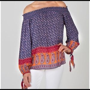 NWT Beach Lunch Lounge SZ XL Off the Shoulder Kate
